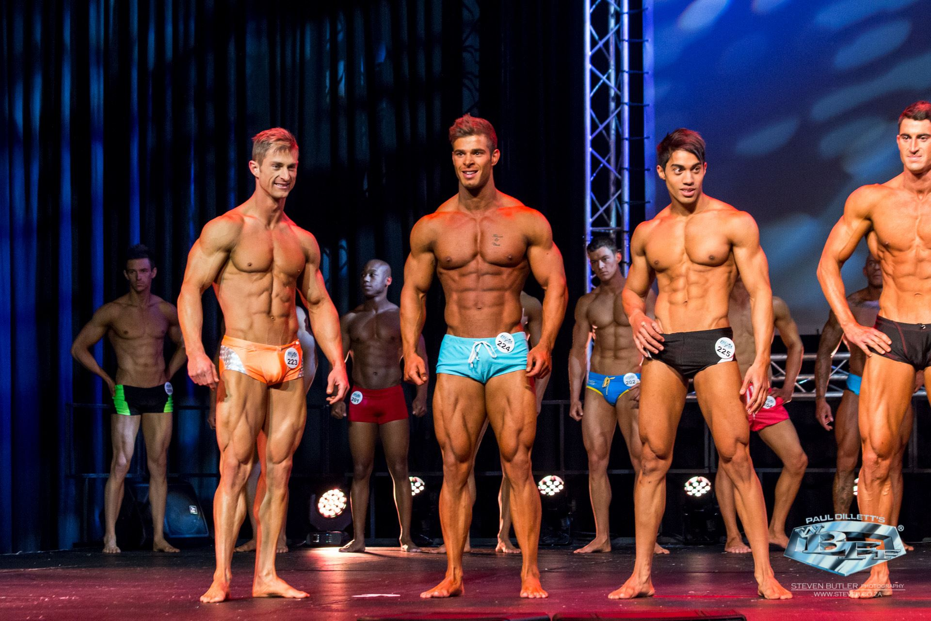 Fitness Show Mens lineup